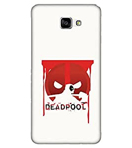 Takkloo warrior super hero,dead, red mask, man with super power) Printed Designer Back Case Cover for Samsung Galaxy A9 (2016) :: Samsung Galaxy A9 Pro (2016)