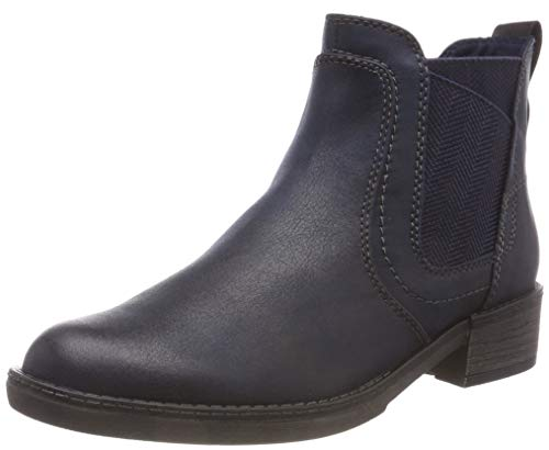 Tamaris Damen 25309-21 Chelsea Boots, Blau (Navy 805), 38 EU