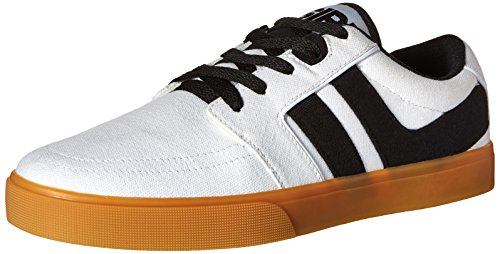 Osiris Lumin Synthétique Chaussure de Basket Blanc/gomme