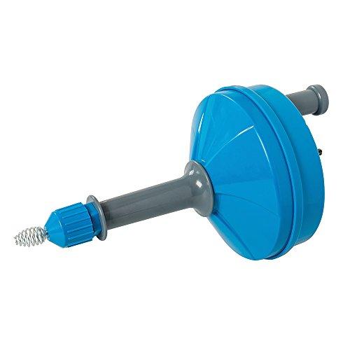 Desatascador de desag/ües para taladros el/éctricos color azul Silverline 633025