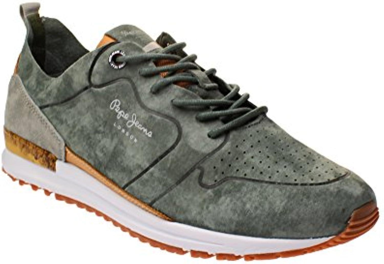 Pepe Jeans PMS30411 Tinker   Herren Schuhe Sneaker   765 khaky g