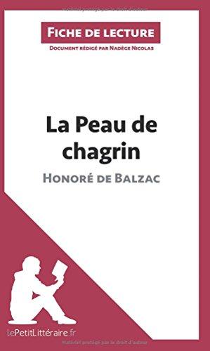 La Peau de chagrin d'Honoré de Balzac (Fiche de lecture): Résumé complet et analyse détaillée de l'oeuvre