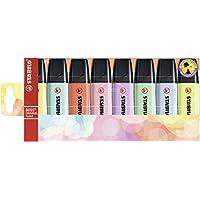 Surligneur - STABILO BOSS ORIGINAL Pastel - Pochette x 8 surligneurs pastel- Coloris assortis