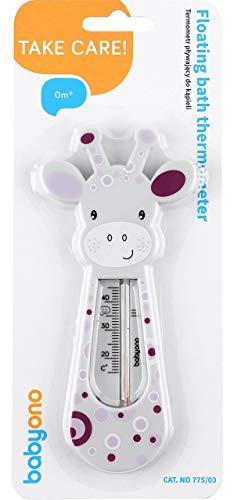 Babyono Schwimmendes Badethermometer(Grau)