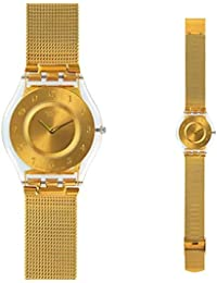 Swatch GENEROSITY Gold-Tone Ladies Watch SFK355M