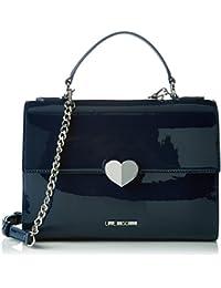 Love Moschino - Moschino, Bolsos maletín Mujer, Blau (Navy Blue), 9x21x29 cm (B x H T)