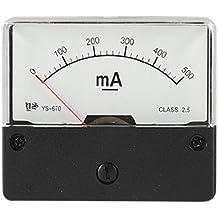 Clase 2,5 analógico DC 500mA herramientas con pantalla para medición de corriente