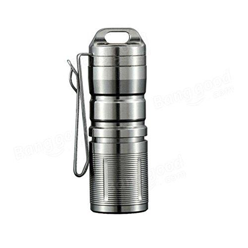 Global JETbeam Mini-1 TI Titanium XP-G2 130LM USB Rechargeable Mini LED lampe de poche