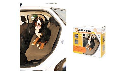 Camon Walky Rear Seat Protector Plus - Coprisedile Posteriore Auto, Fodera Protezione Sedile Da Sporco Peli Di Animale Cane Gatto
