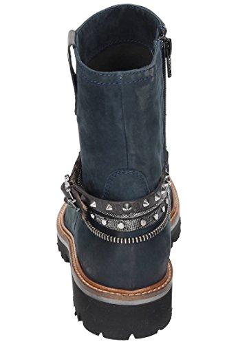 Maripé bottines pour femme bleu Noir - Noir