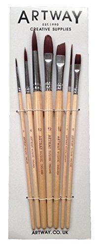 artway-set-di-pennelli-da-pittura-confezione-da-7-con-pennello-tondo-piatto-lingua-di-gatto-da-stesu