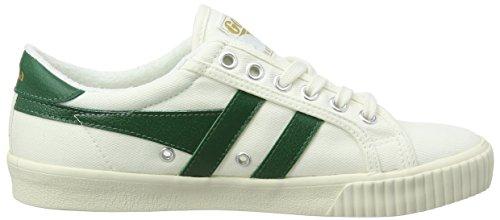 Gola Damen Tennis Kurzschaft Stiefel Elfenbein (Off White/dark Green)