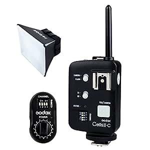 Godox Cells II Déclencheur et récepteur radio Godx FTR-16 pour Godox AD180 / AD360 Blitz Studio Flash