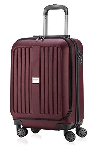 Hauptstadtkoffer, Bagage cabine Unisexe Adulte Rouge Rot matt 55 cm