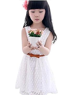 Vestido de niña, RETUROM Vestido Princesa encantador del chaleco del cordón del verano