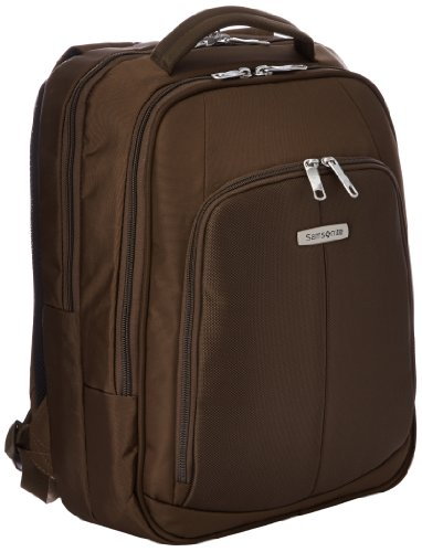 "Samsonite Cartella Intellio Briefcases Laptop Backpack 16"" 17 liters Marrone (Dark Brown) 56334-1251"