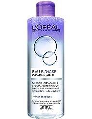 L'Oréal Paris Eau Micellaire Bi-Phasé Étanche pour Peaux Sensibles 400 ml