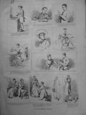 1887 UI1 VOYANCE CHIROMANCIE SENTIMENTALE DOCTRINE TROMPEUSE PALEY DABBLE par Actualités générales