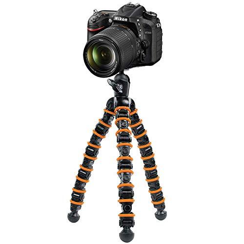 TronicXL Premium Kamerastativ Kamera Stativ Flexibel Dreibein kompatibel für Nikon D3000 D3100 D3200 SLR D3500 Z7 Z6 Coolpix L32 W300 S 3700 9900 7000 3500 D5300 D3400 D5 D500 D800 1 VR AW1 V3 1J5 (Nikon D3000 Stativ)