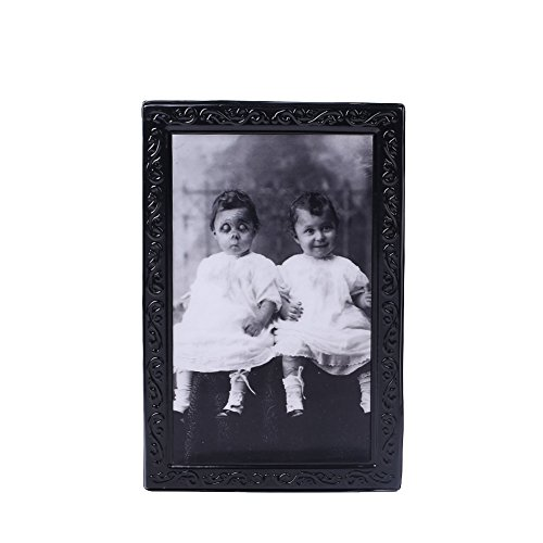 Fenghong Halloween Party, 3D Ghost Fotorahmen Code 38X25CM Stil Baby Halloween Horror Lenticular Wand Gothic Foto Bild Ghost Frame Scary Spooky