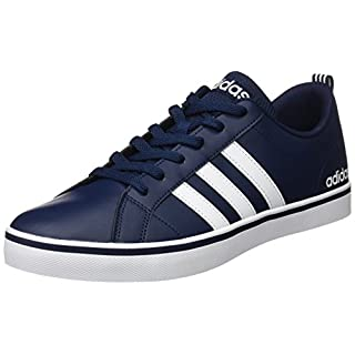 adidas Men's Vs Pace Basketball Shoes, (Collegiate Navy/Footwear White/Blue), 10 UK 44 2/3 EU