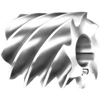 F & D Tool Company 10569-a213Uni Fräser, schwere, High Speed Stahl, 7,6cm Durchmesser, 3,2cm Breite von Gesicht, 3,2cm Loch Größe
