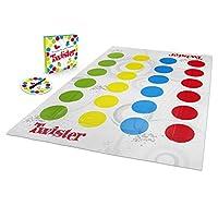 Hasbro-Twister-Spiel-Partyspiel-fr-Familien-und-Kinder-Twister-Spiel-ab-6-Jahren-klassisches-Spiel-fr-drinnen-und-drauen Twister Spiel, Partyspiel für Familien und Kinder, Twister Spiel ab 6 Jahren, klassisches Spiel für drinnen und draußen -
