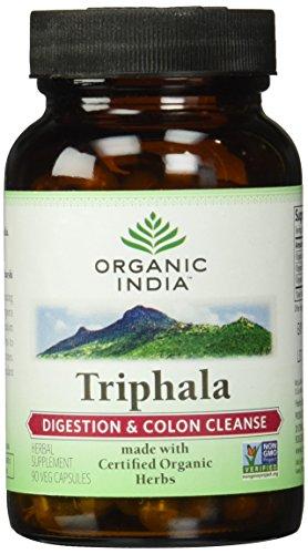 Organic Triphala Capsules Vegetarian 60 Test