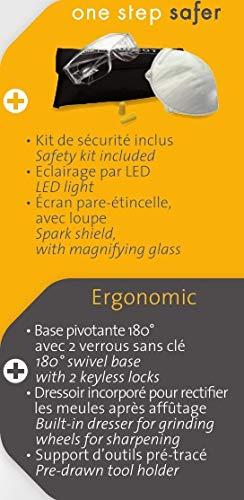 Smerigliatrice Da Banco Ad Acqua.Peugeot Energygrind 150 Mep Smerigliatrice Da Banco Con