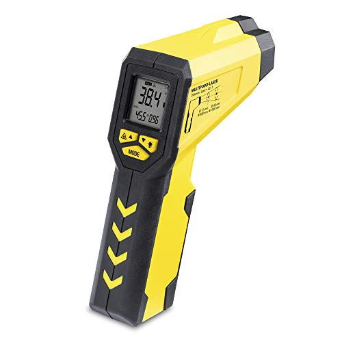 TROTEC TP7 Multipunkt-Laser Infrarot Thermometer, Pyrometer, -50°C bis +1.000 °C