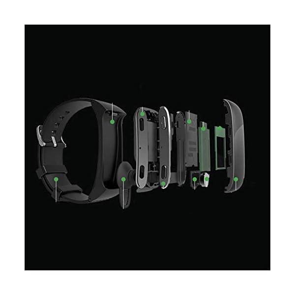 Nfudishpu Fitness Tracker Smart Wear Bracelet Health Monitor Bluetooth Call Watch Adecuado para Caminar, Correr, Bicicleta de montaña, Baloncesto, Danza, etc. 2