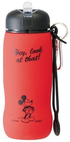 Disney Mickey Maus klappbar Silikon Flasche 500ml slbt1 (Lunch-boxen Mickey)