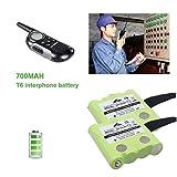 Funnyrunstore 2PCS 4.8V 700mAh NI-MH Batería de reemplazo para...