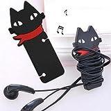 Cat générique écouteurs enrouleur de câble Organisateur (Pack de 5 )