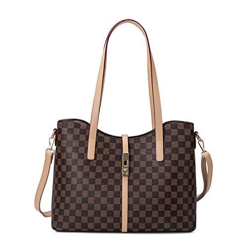 LFGCL Taschen womenPrinted Handtasche Retro Kind Tasche Schulter Diagonale Tasche Mutter Handtasche, quadratische Farbe