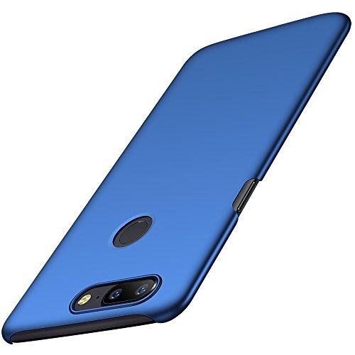 OnePlus 5T Hülle, Anccer [Serie Matte] Elastische Schockabsorption & Ultra Thin Design für Oneplus 5T [Serie Matte] (Glattes Blau)