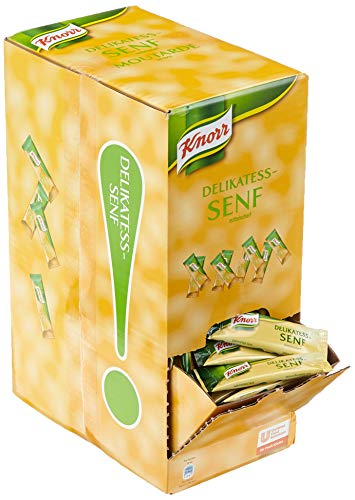 Knorr Delikatess-Senf Portionspackungen, 1er Pack (240 x 10ml)