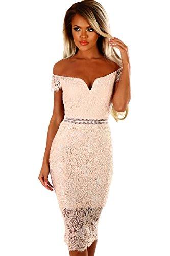 emmarcon elegante abito cerimonia Prezzi Moda Donna  bc4c056aa184