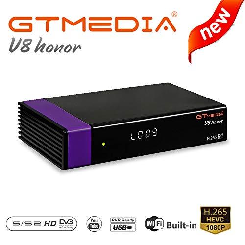 GT MEDIA V8 Honor Receptor de TV por satélite DVB S2 Satellite decoder FTA...