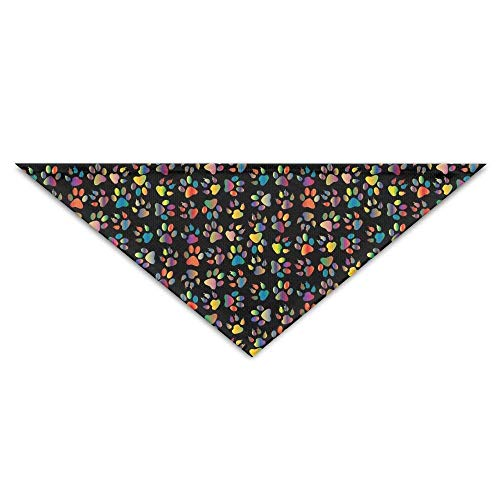 Wfispiy Lovely Abstract Pet Footprint PrintingDog Birthday Pet Bandana Collars for Dogs and - Girl Blues Brothers Kostüm