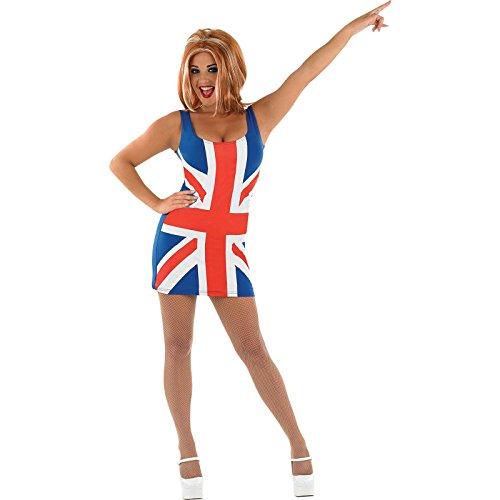 UNION JACK DRESS (Kinder Girl Spice Kostüm)
