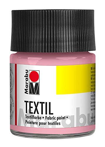 Marabu 17160005231 Textilfarbe, Textil, wildrose, 50 ml, 5 x 5 x 7.7 cm