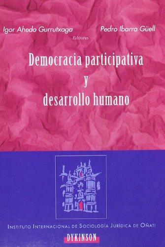 Democracia Participativa Y Desarrollo Humano
