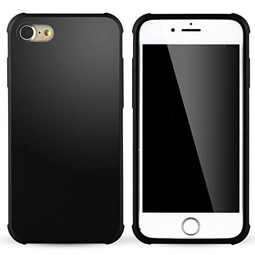 iPhone 7 hülle,iPhone Se hülle,Lizimandu Case Für apple iphone7 aus TPU Silikon - Handy Schutzhülle Cover(Drachen Blau/Dragon Blue) Schwarz/Black