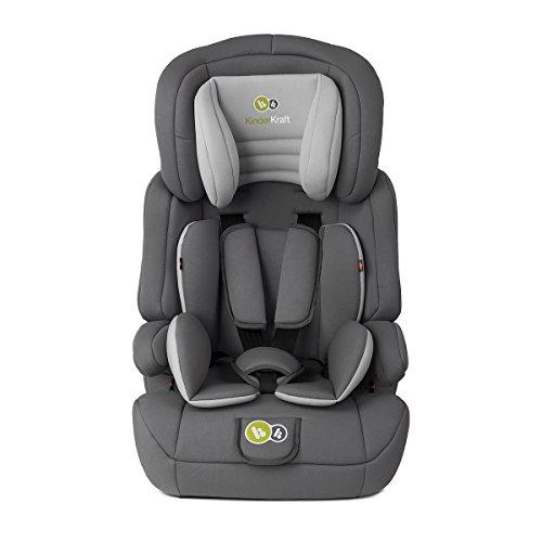 Kinderkraft Comfort UP Kinderautositz  Autokindersitz Autositz Kindersitz 9 bis 36 kg Gruppe 1 2 3 Grau
