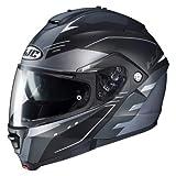 HJC IS-MAX II CORMI Motorrad Klapphelm Touring - matt schwarz grau