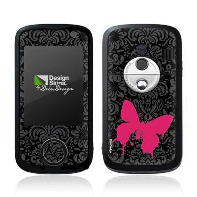O2 XDA Orbit 2 Case Skin Sticker aus Vinyl-Folie Aufkleber Schmetterling Butterfly Pink