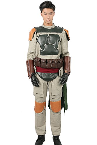 Nexthops Boba Fett Kostüm Cosplay Costume Deluxe Outfit -
