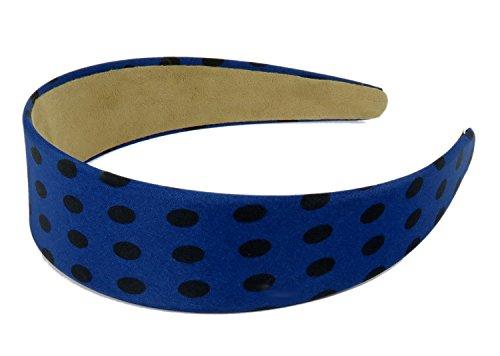 lly Haarreif Punkte Polka Dots Burlesque Blau (1950er Jahre Burlesque Kostüme)