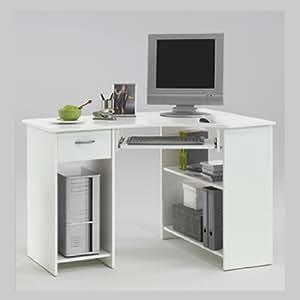 Home Office White Corner Computer Desk Felix Kitchen Home
